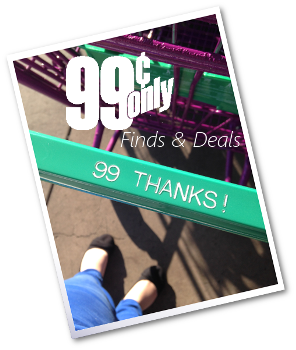 Deals and other finds at the local 99 Cent Only Stores
