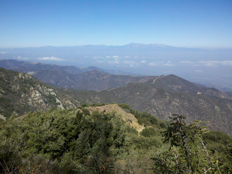 Santiago Peak • View of Mount Baldy