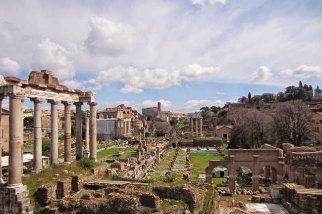 roman forums via sacra Rome Forum