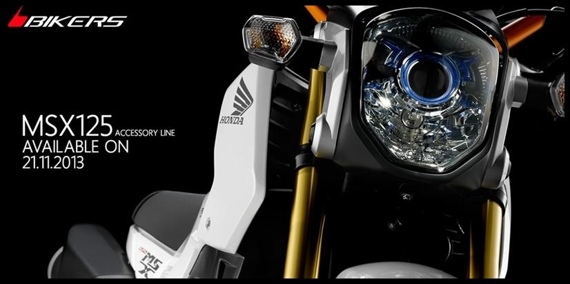 msx125 bikers
