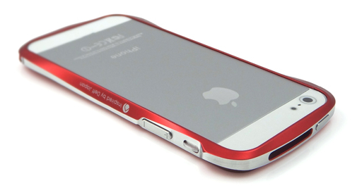 Deff CLEAVE ALUMINUM BUMPER for iPhone5 フレアーレッド