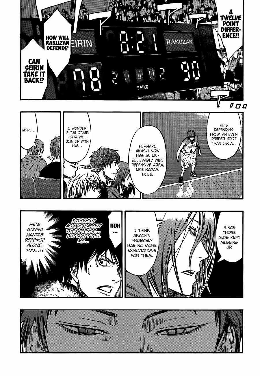 Kuroko no Basket Manga Chapter 262 - Image 03
