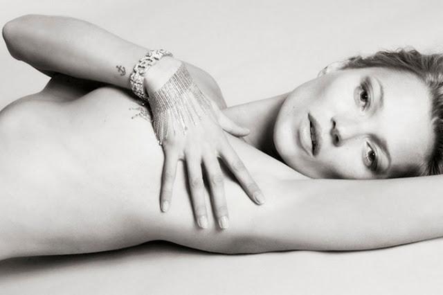 #Playboy 60周年紀念刊:獻上 Kate Moss 兔女郎造型封面 1