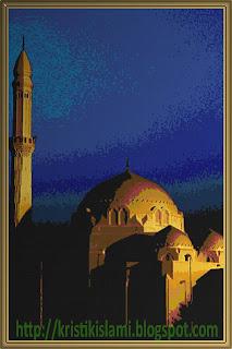 Free Cross Stitch Chart: Masjid Jumuah