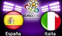 Espana Italia vivo online directo 1 Julio