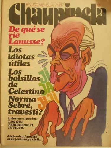 Humor y política en algunas revistas argentinas