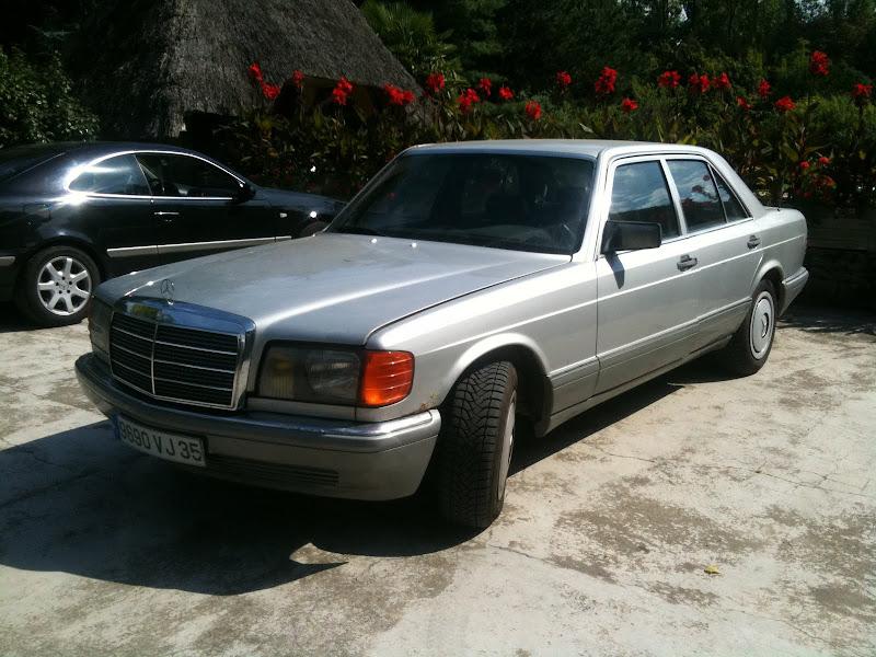 La W126 300SE de 89 de Ghia Photo%2525204