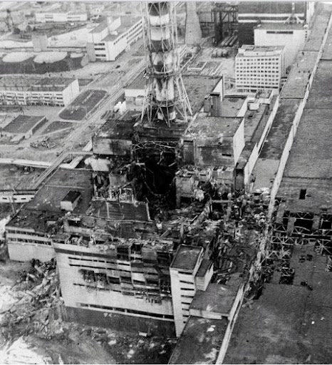 Keadaan Loji Chernobyl ketika kejadian