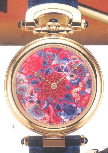 Đồng hồ độc đáo với nghệ thuật tráng men đỉnh cao