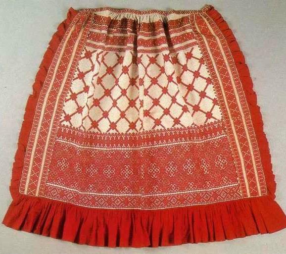 Старинная одежда руси вологодский