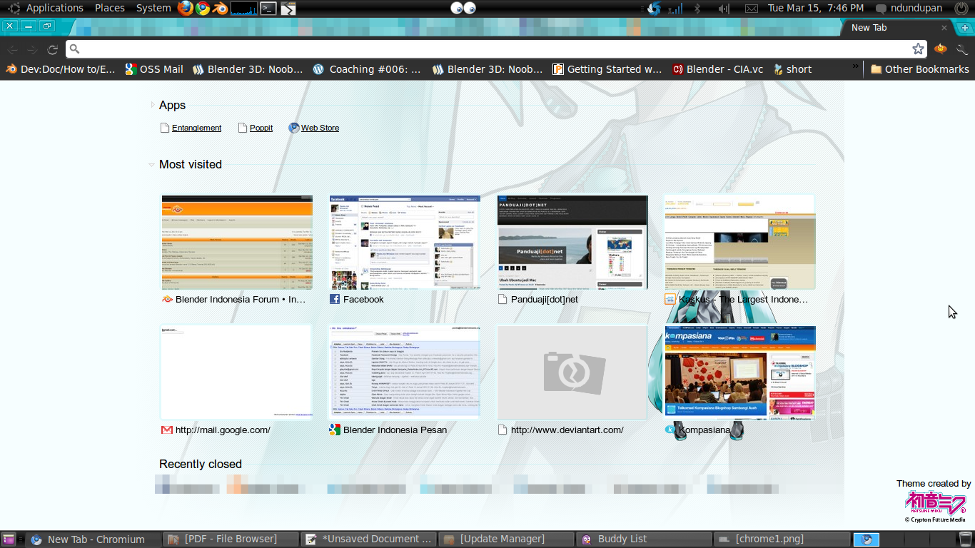 Chromium Browser Theme 1