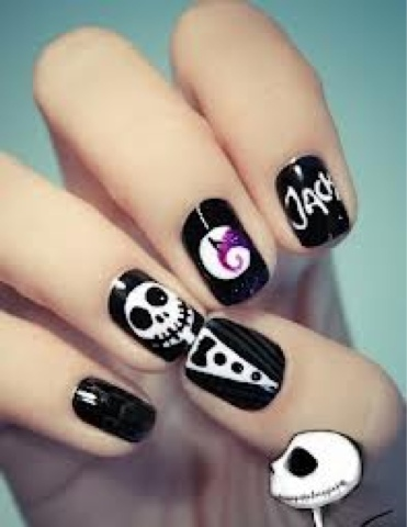 Pretty Hairstyles78 Halloween Nails For Girls Part 2