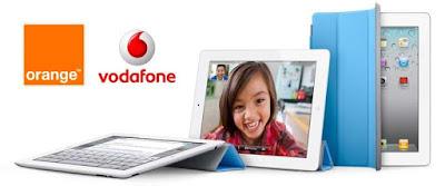 Orange y Vodafone venderán el iPad 2 con subvención en España en breve