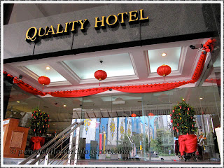 Entrance to Quality Hotel City Centre Kuala Lumpur