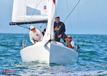 J/70 one-design class sailboat