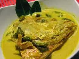 Resep 08: Resep Gulai Kepala Kakap  Masakan khas Aceh