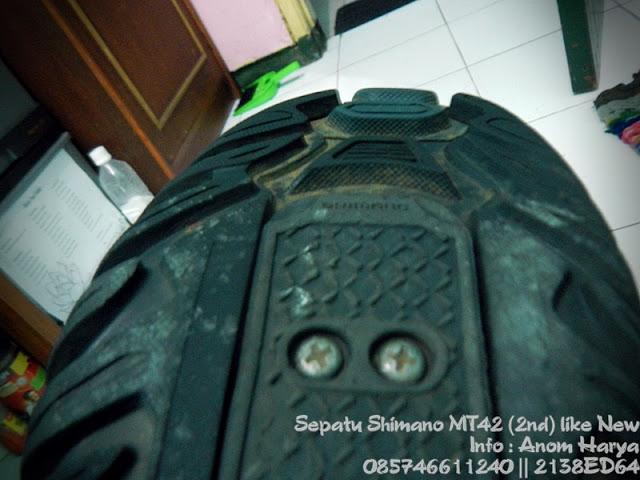 Jual Sepatu Shimano MT42 2nd Kondisi Mint