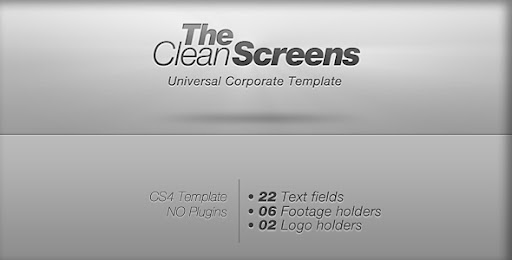 VideoHive Clean Screens