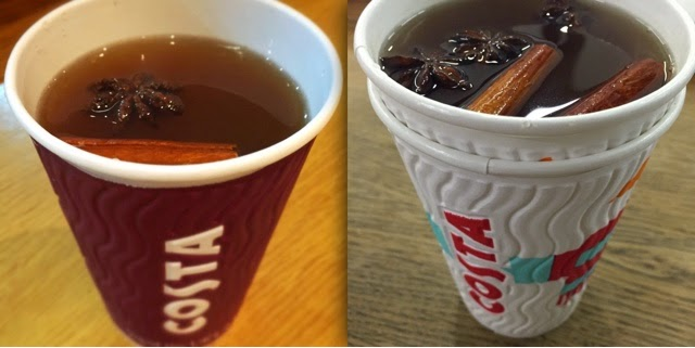 Costa's Hot Spiced Apple