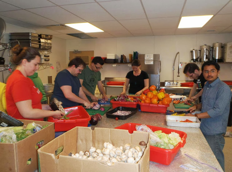 PIT (People In Transition) rebuild a dilapidated kitchen - Aviva Community fund Winner