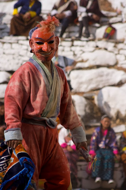 Payaso festival de Paro, Bután