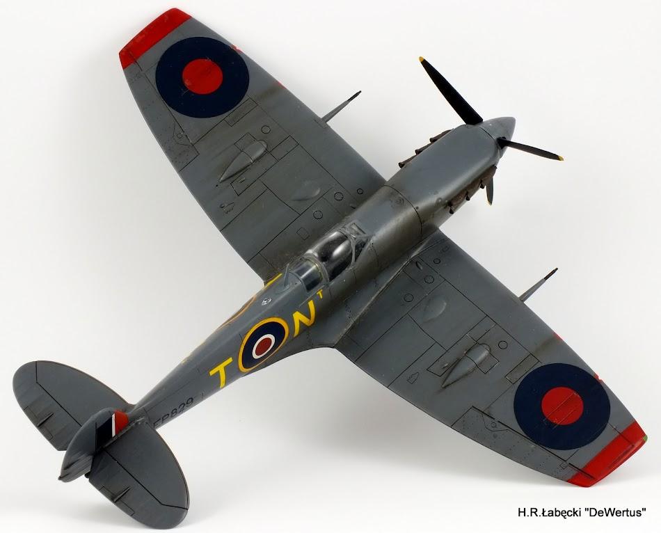 Malta 1940-43, Spitfire Mk.Vb, 249 Sqn RAF, Tamiya 1/48 DSCF4171