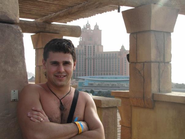 Фото Дарья и Сергей Пынзарь в Эмиратах