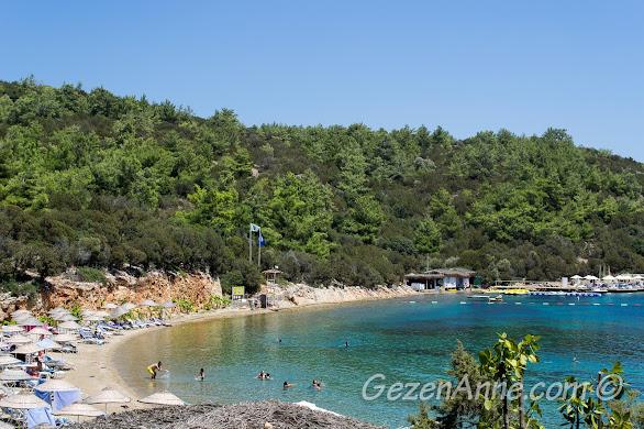 Bodrum Park Resort'ın sahili