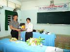 Đánh giá đợt làm việc với chuyên gia của Tổ chức WUSC, Nguyễn Ngọc Hải