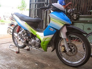 modifikasi motor jupiter z 2004