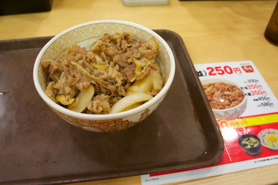 Japan Images: Hmmm Beef Bowl