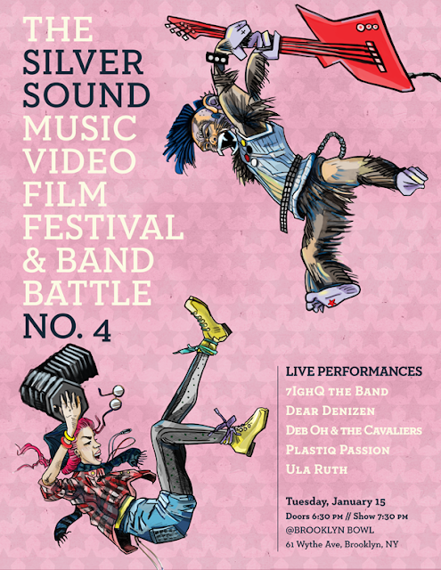 The Silver Sound Music Video Film Festival and Band Battle No. 4!