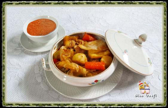 Frango com legumes da vó Chiquinha