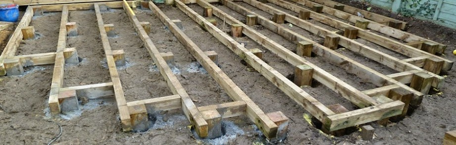 Customer projects let 39 s get involved avs fencing supplies for Garden decking framework
