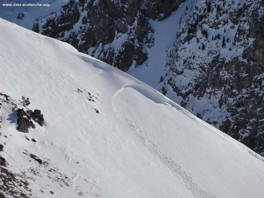 Avalanche Belledonne, secteur Croix de Chamrousse, Entre le Col de La Botte et La Croix de Chamrousse - Photo 1 - © Felix Denis