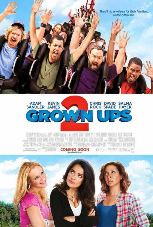 Poster Of English Movie Grown Ups 2 (2013) Free Download Full New Hollywood Movie Watch Online At alldownloads4u.com
