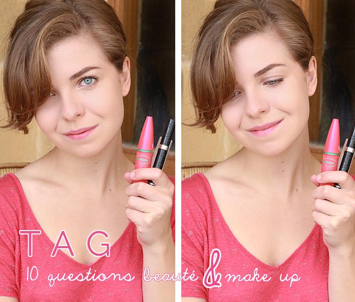 tag beauté, questions maquillage, habitudes beauté, blog beauté, conseils make up