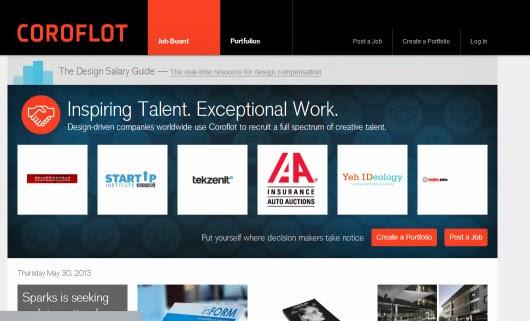 coroflot sumber desain inspirasi dan portofolio