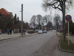 Ortsdurchfahrt Gartz im Zuge der B 2 (Bild Archiv gemeinde-tantow.de / A.M.)