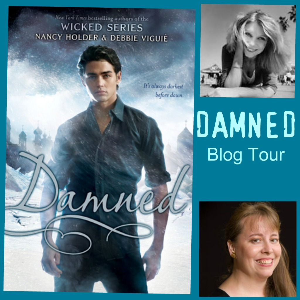 Tour: Interview & Giveaway: Damned by Nancy Holder & Debbie Viguié