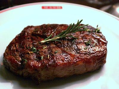 Steak at MASH in Copenhagen