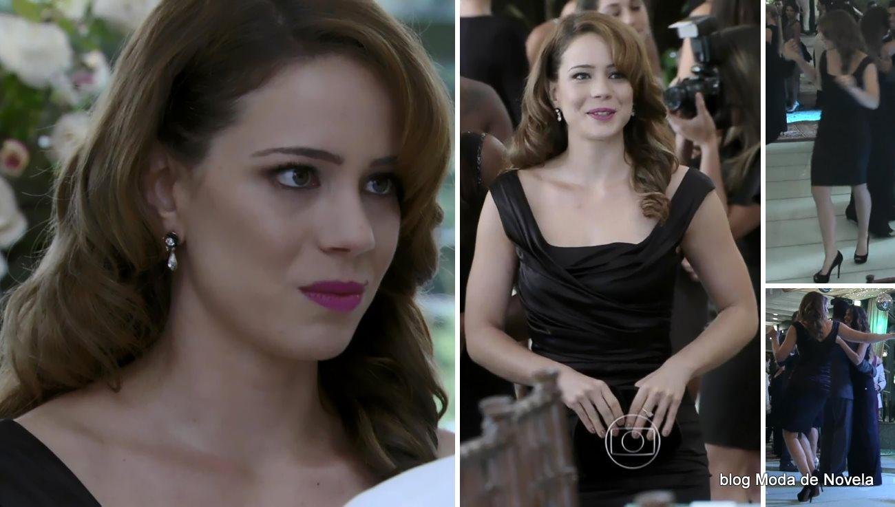 moda da novela Império, look da Cristina no casamento da Maria Clara