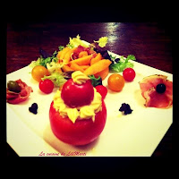 Profiterole de tomate - recette indexée dans les entrées