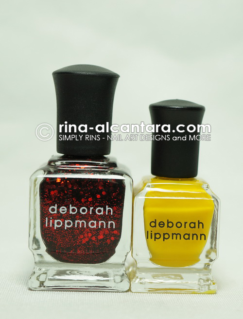 Comparison: Deborah Lippmann regular bottle and a mini bottle