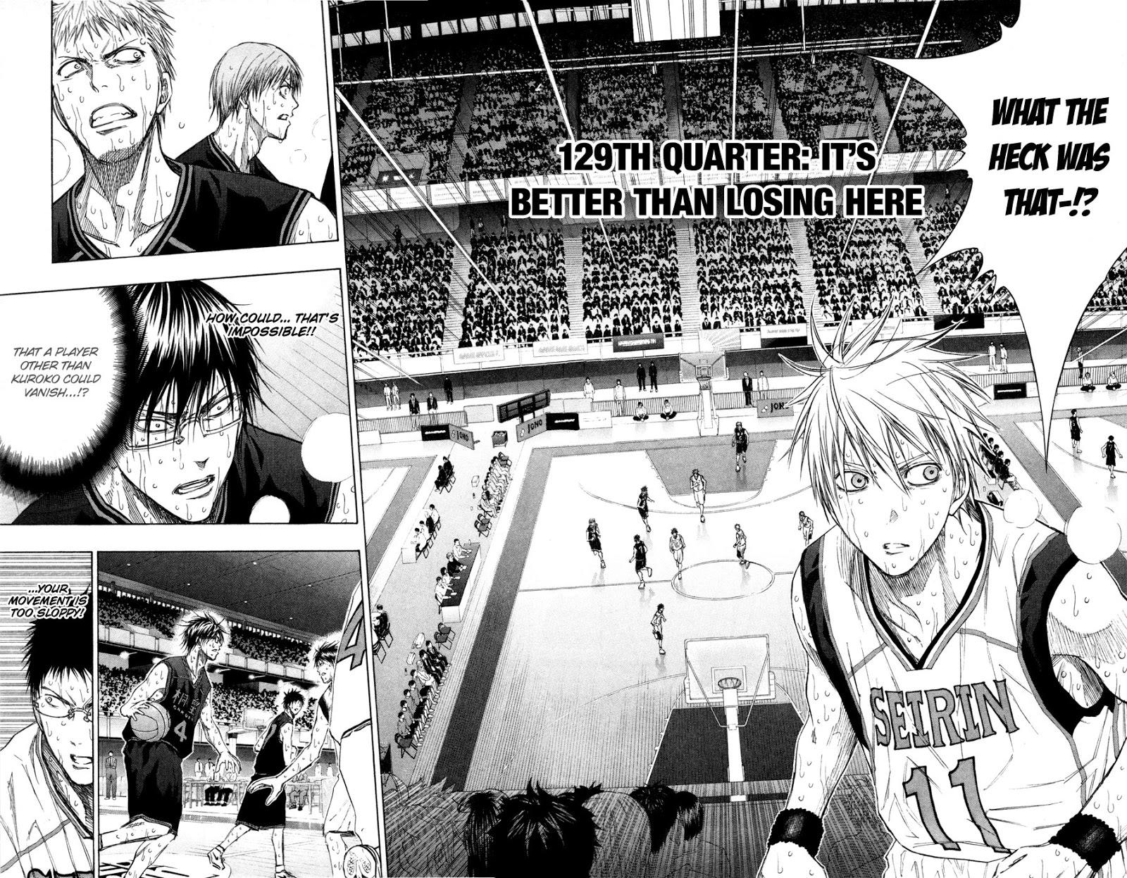 Kuroko no Basket Manga Chapter 129 - Image 02-02