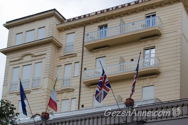 Sorrento'da kaldığımız Antiche Mura oteli