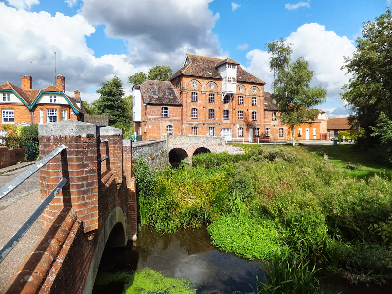 Hawkes Mill and millpond