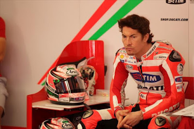 Nicky Hayden Mugello 2012