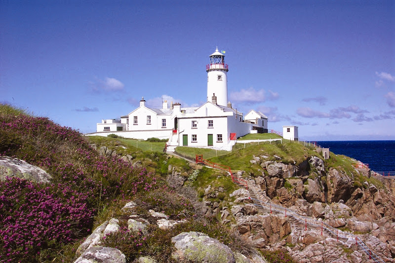 Fanad Head Lighthouse, from Driving Ireland's Wild Atlantic Way