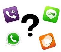 Apps mensajería móvil